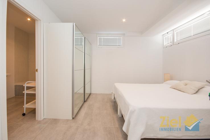 Schlafzimmer im Souterrain