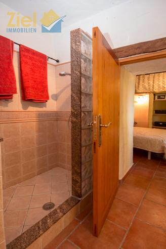 Duschbad im 2. Apartment
