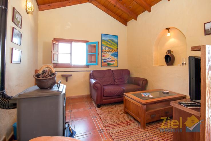 Gemütliches Wohnzimmer im La Casita