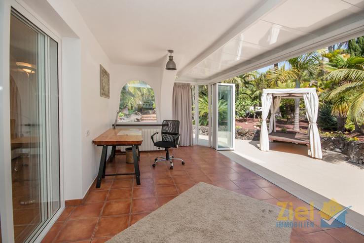 Möglichkeit eines luftigen Wohnraums