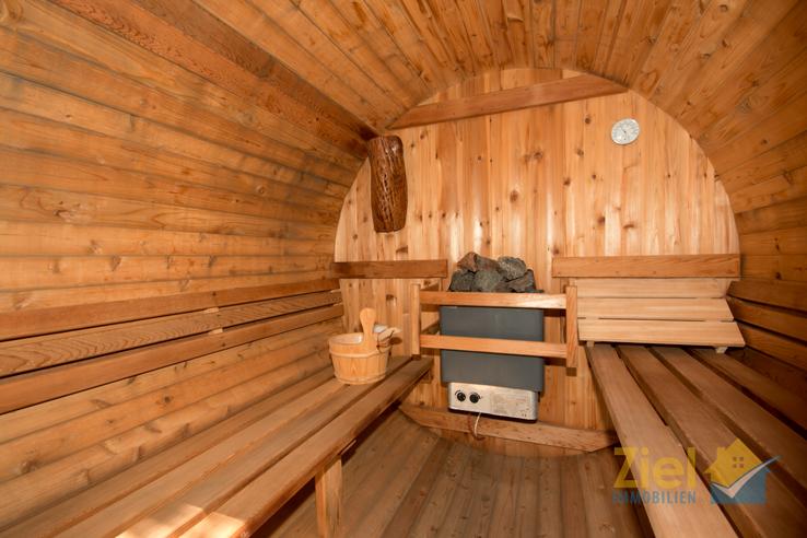 Kleine, aber feine Sauna