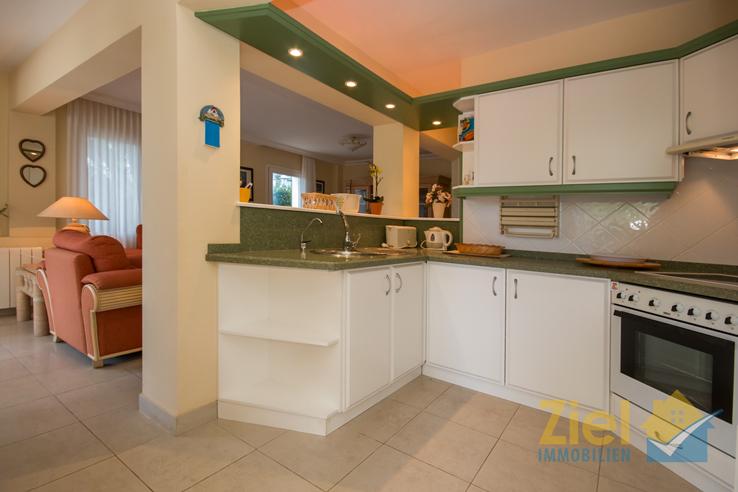 Integrierte Küche vom Apartment