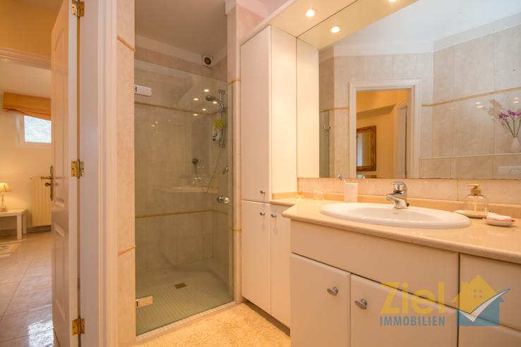 Duschbad des Apartments