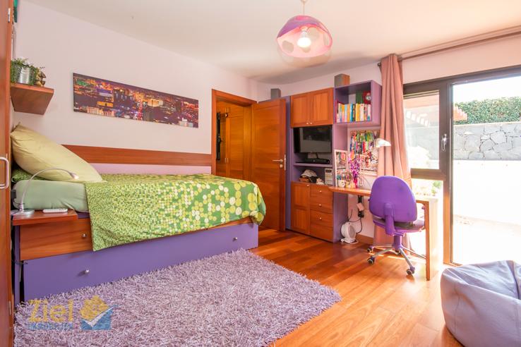 Buntes zweites Schlafzimmer
