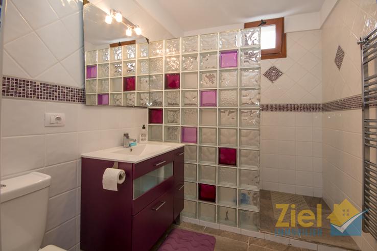 Modernes zweites Badezimmer mit Dusche
