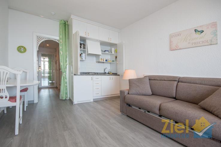 Integrierte Kitchenette des Apartments