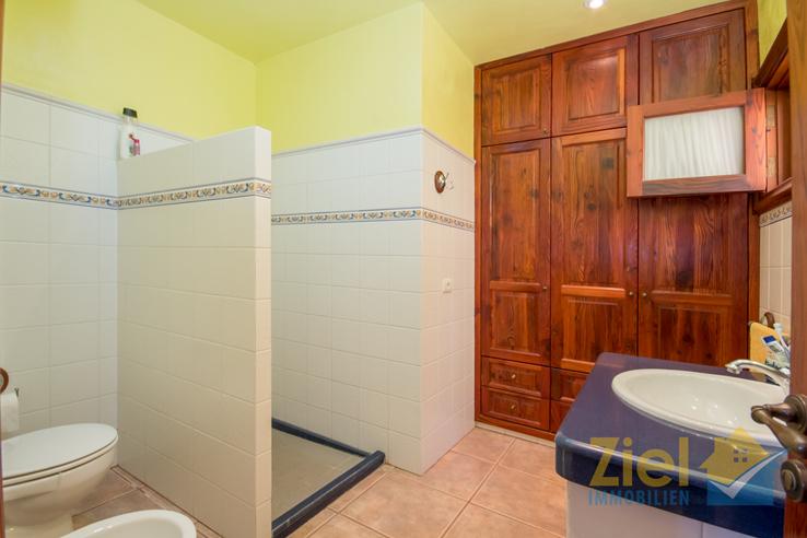 Walk-in Dusche im zweiten Badezimmer