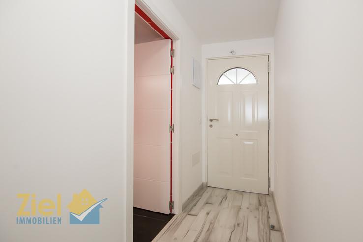 Willkommen im Apartment - der Eingangsflur