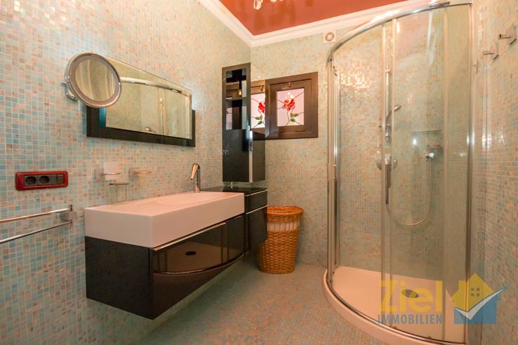 Extravagantes Duschbad zum Wohlfühlen