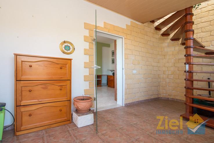 Eingangsbereich im Wohnhaus