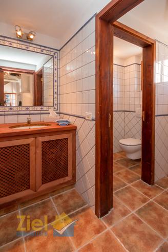 Gäste-Toilette in der Bodega
