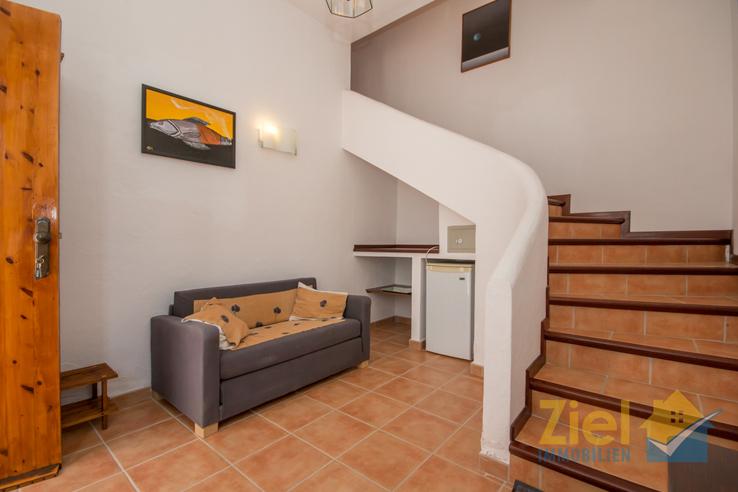 Kleiner Wohnbereich im Erdgeschoss