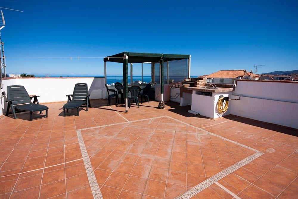 Dachterrasse mit Barbecue