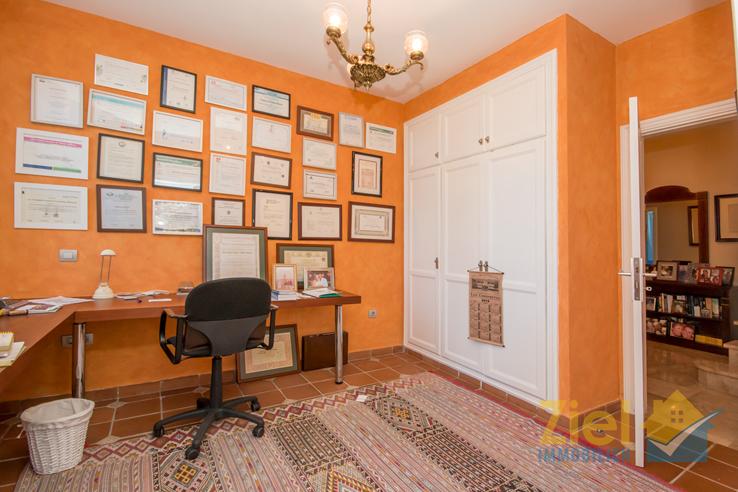Büroraum im unteren Wohnbereich