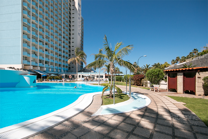 Poollandschaft beim Hotel Maritim