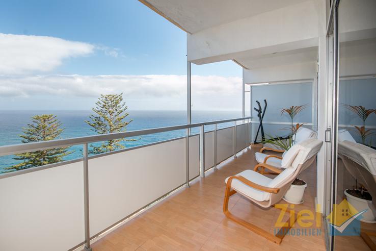 Entspannen auf dem Meerblick-Balkon