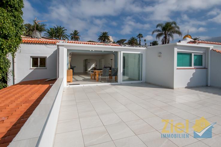 Uneinsehbare Terrasse von 45m²