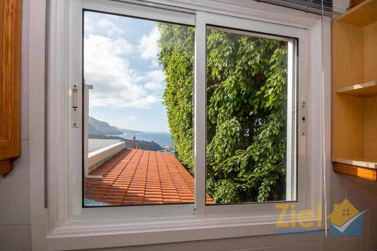 Meerblick aus dem Küchenfenster