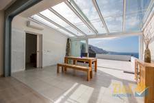Das offene Wohn-Konzept mit dem Wintergarten vollendet