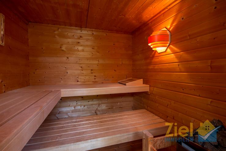 Wohlige Sauna im Garten