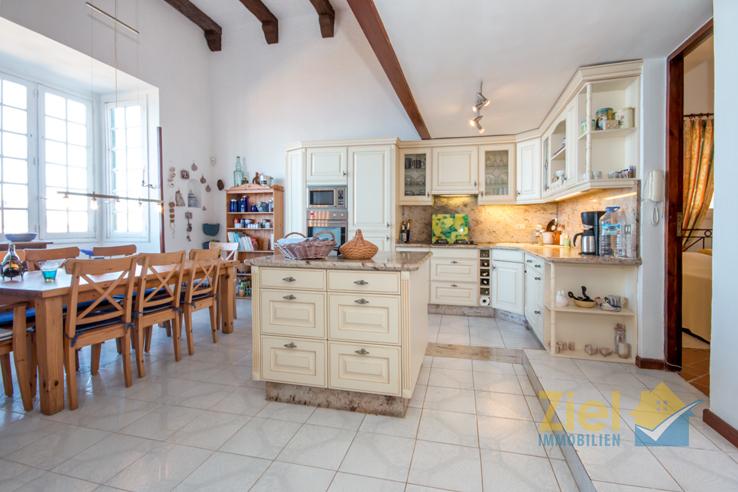 Viel Platz in der Wohnküche des Hauses