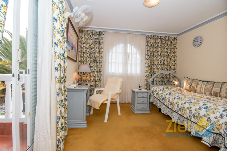 Eines der beiden gemütlichen Schlafzimmer
