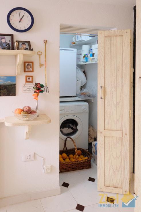 Praktischer Vorratsraum in der Küche