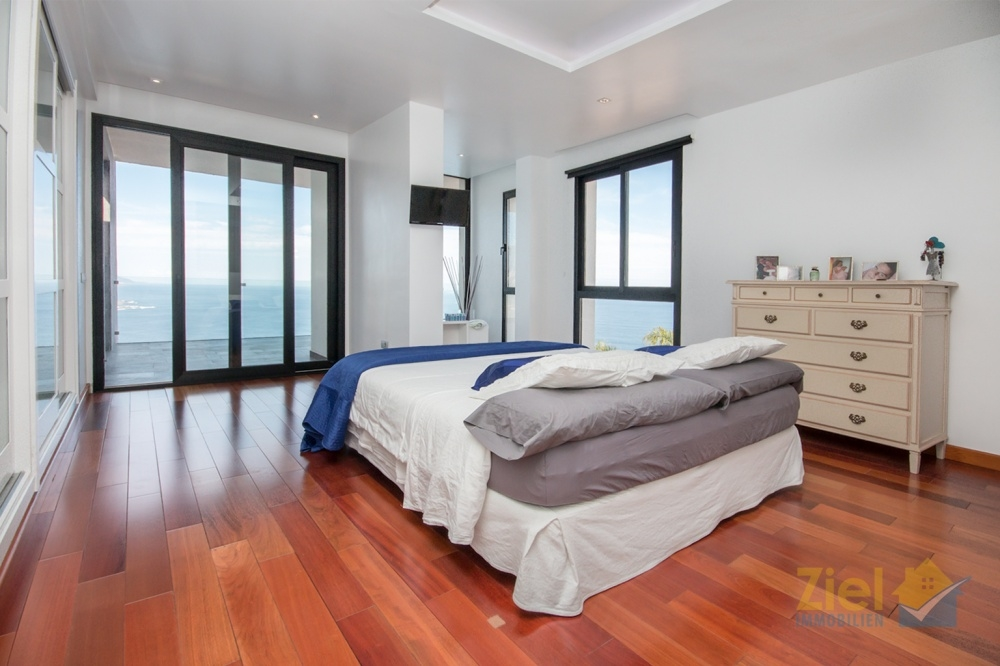 Das Hauptschlafzimmer - ein Höhenflug für die Sinne !