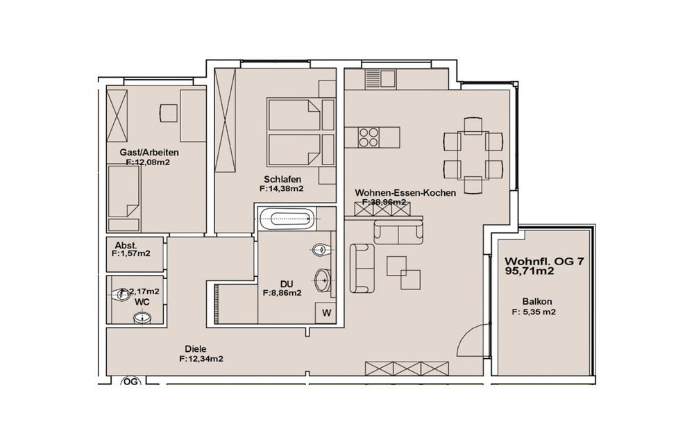 Wohnung 7 OG