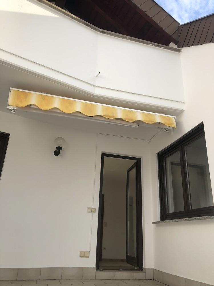 Dachterrasse Markise