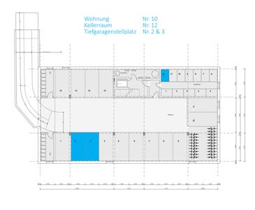 Keller- und Tiefgaragenplan