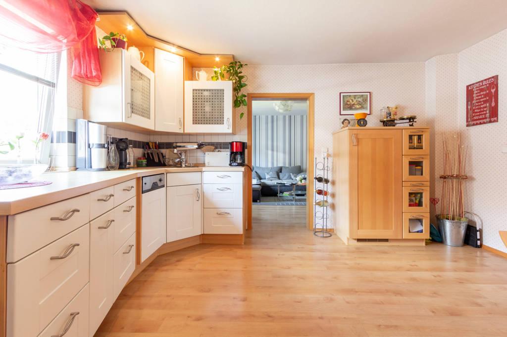 Zugang zum Wohnzimmer im Hinterhaus