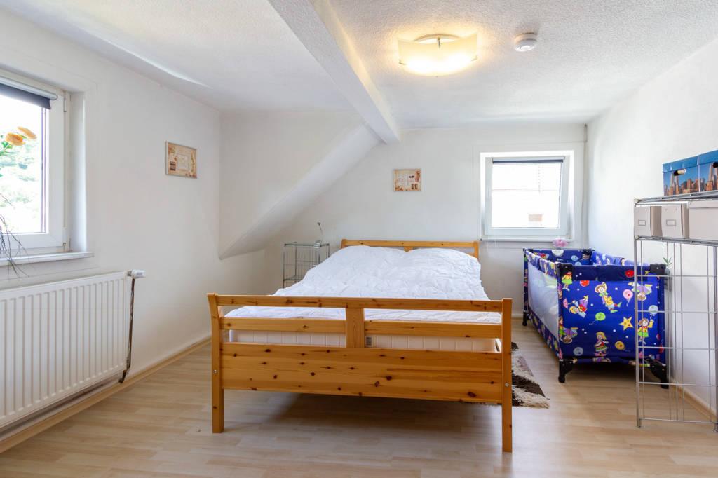 Schlafzimmer im DG Hinterhaus