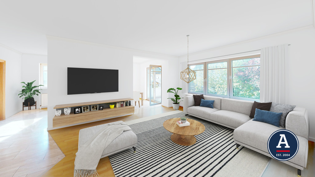 Wohnzimmer Nachher (Beispiel)