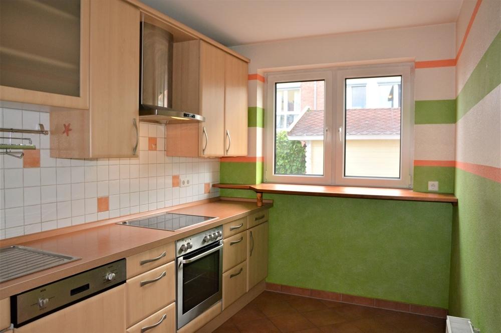 abgeschlossene Küche