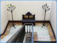 Treppe zum Erdgeschoss