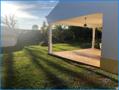 Terrasse und Gartenbereich