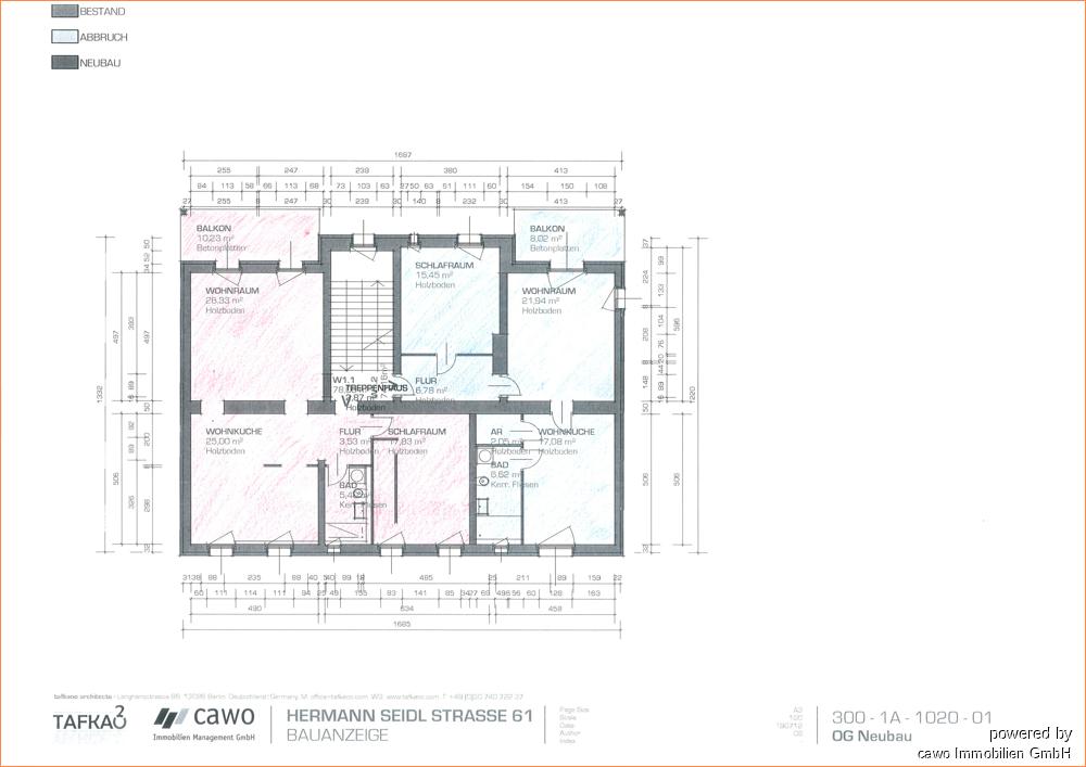 Wohnungseinheiten H-Seidel 61 OG