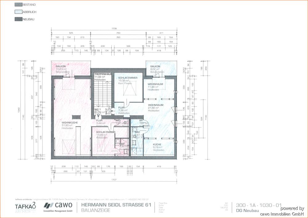 Wohnungseinheiten H-Seidel 61 DG