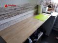 Geschmachvolle Arbeitsfläche in der Küche