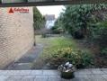 Blick vom Freisitz in Garten
