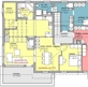 Grundriss 3.5 Zimmer-Wohnung mit Galerie