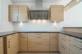 Wohnung links: Küche