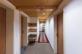 Korridor zu den Hotelzimmern