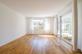 Wohnbereich ohne Möbel