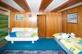 Erdgeschoss: Zimmer mit Kachelofen
