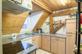 Küche der Wohnung 3, Dachgeschoss