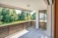 Grosszügiger Balkon mit Blick ins Grüne