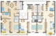 Geschossplan 1.-4. Obergeschoss