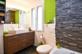 Modernes Bad im Obergeschoss